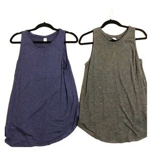 Lot of 2 Old Navy M tank tops with sparkler new!!